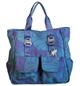 Blue Tote Front Small